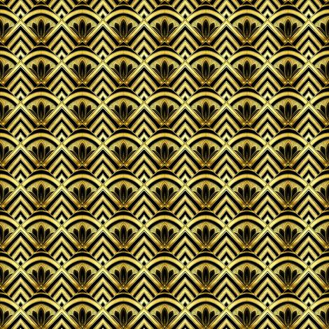 Art Deco Diamonds micro scale fabric by beesocks on Spoonflower - custom fabric