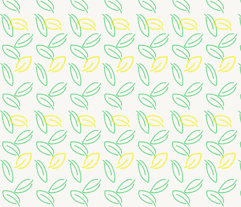 In the Hedge fabric by by_mountain_by_sea on Spoonflower - custom fabric