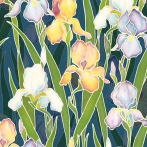 Night Irises