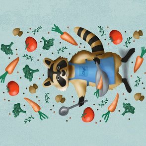 chef racoon