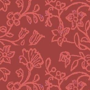 Pompeii Rose Brocade