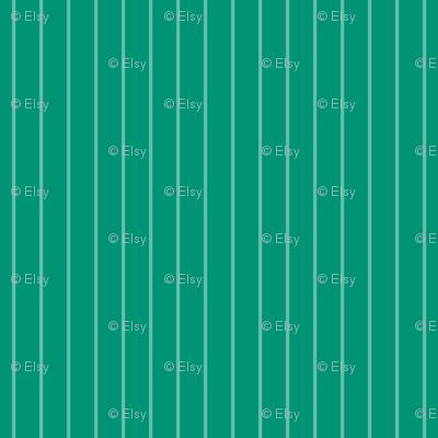 Green Vertical Pin Stripes