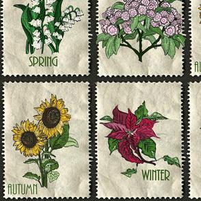 Seasons flowers