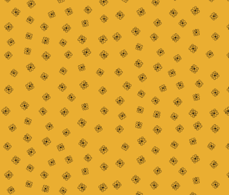 Tiny Flowers fabric by dualsunsdesign on Spoonflower - custom fabric