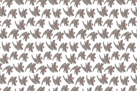 tahli tusk - baby elephant joy! fabric by art_eclect_studio on Spoonflower - custom fabric