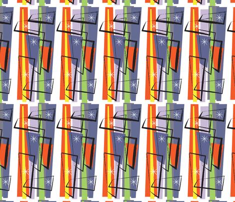 Vintage Retro SF014 fabric by domusmoderno on Spoonflower - custom fabric