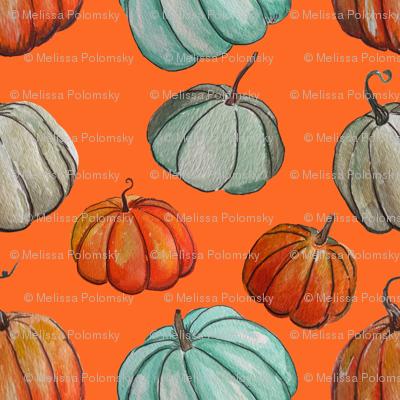 Autumn Pumpkin Patch // Orange