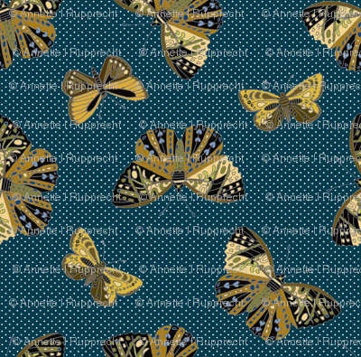 Butterflies are free Teal 092518