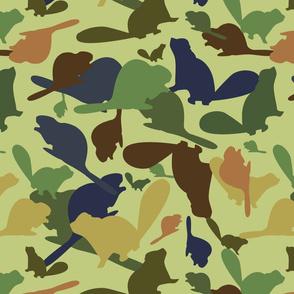 Spring Lawn Canadian Beaver camoflauge