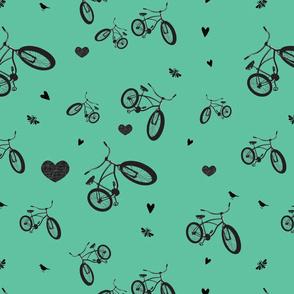 Bike Love Vintage Bicycle