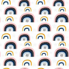 Creative rainbows pattern