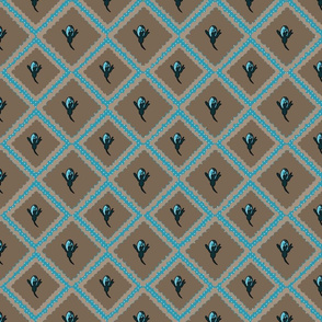 secret garden diamond buds turquoise 092518