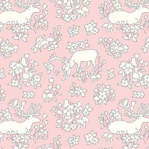 Reindeer pale pink