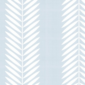 LAUREL LEAF STRIPE ON LIGHT BLUE