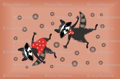 Dancing Raccoons