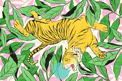 Tiger Tea Towel