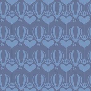 Steampunk Balloons Hearts