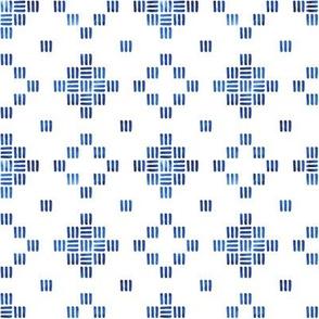 Moderne Diamonds in Blue