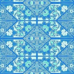 Crisp Blue Garden