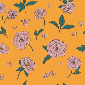 Sublimated Flowers_yellow
