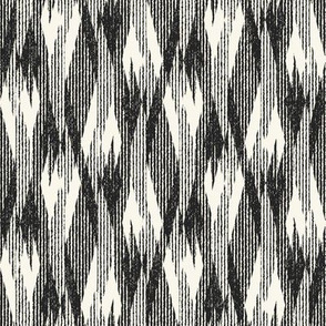 Ikat Inspired Graphic Motif