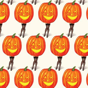 Pumpkin Pin-Ups