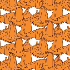 Sea of Cones - Orange