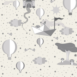 Paper Dreams Gender Neutral Nursery Wallpaper design challenge
