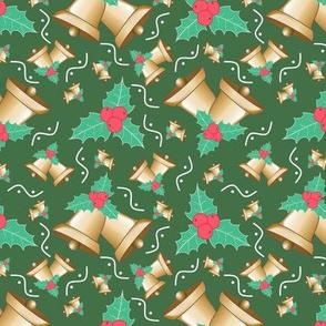 Ring Christmas Bells Green