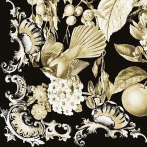 Black and Tan Baroque