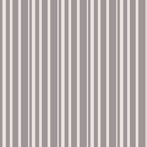 Streifen_mausgrau-altrose fabric by melanio on Spoonflower - custom fabric