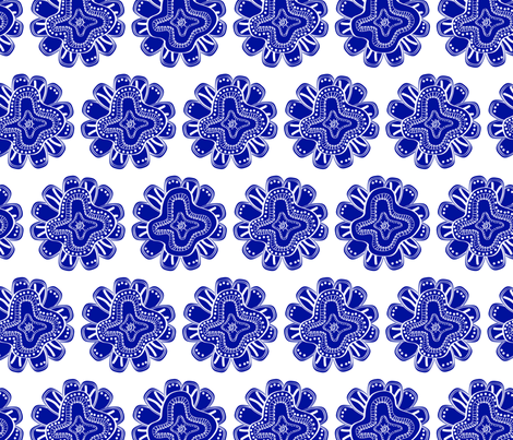 CHINA BLUE-01 fabric by fia13 on Spoonflower - custom fabric