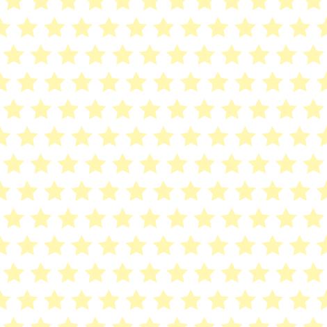 Stern_sonnengelb fabric by melanio on Spoonflower - custom fabric