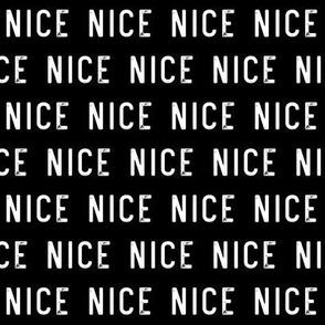 nice - black