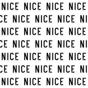 nice - white