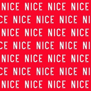 nice - red