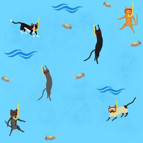 Scuba kitties