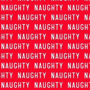 naughty - red