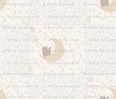 "Pastel Nursery Neutral - Appox 5"" squares"