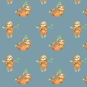 Baby Sloths // Gumbo Blue