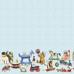 "Playmates Blue Border- 5.3_4""toys"