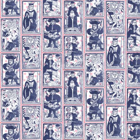 Tarot Card Love fabric by pattyryboltdesigns on Spoonflower - custom fabric