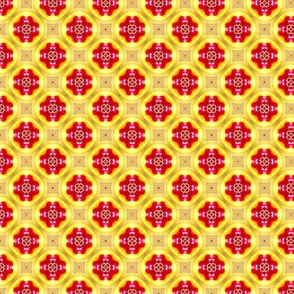 Tile lemon and cherry