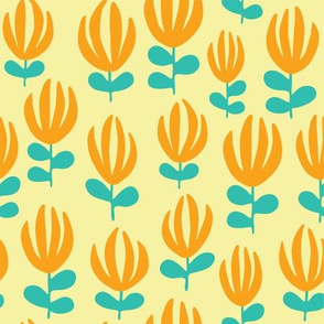 Scattered Florals_Butter
