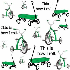 This Is How I Roll Green