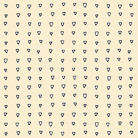 tri cream fabric by scrummy on Spoonflower - custom fabric