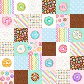 Rainbow-donuts-cheater-quilt-6-inch-squares-rotated-hazel-fisher-creations_shop_thumb