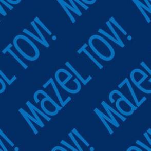 Mazel Tov! on White on Dark Blue Light Blue-01-01
