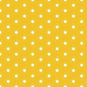 Sun Dots on Yellow