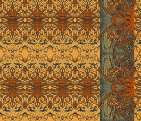 Hidden hearts fabric by snarets on Spoonflower - custom fabric